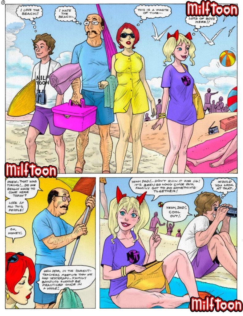 milftoon family colored Family Incest (Color) – Milftoon