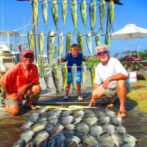 hatteras fishing charter trips