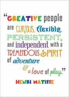 Creative People are ...