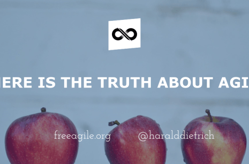 Where is the truth about agile? - Free Agile! Community