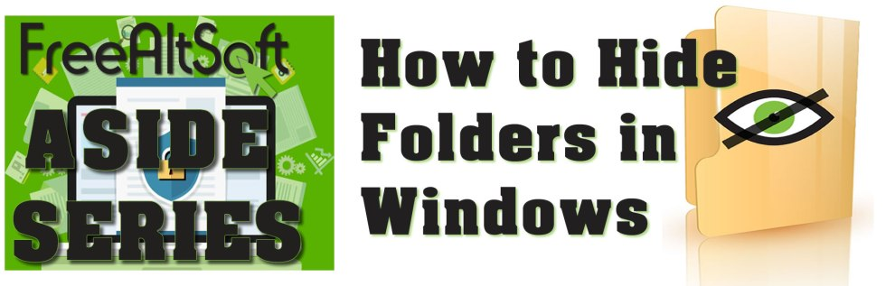 How To Hide A Folder In Windows