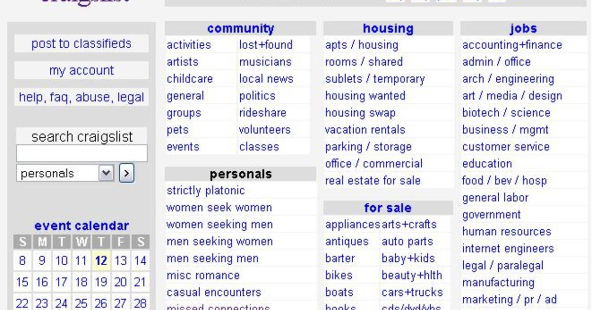 Craigslist Shoals Personals