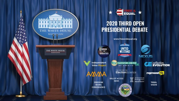 Free and Equal Elections Third Presidential Debate 2020 - List of Sponsors www.freeandequal.org