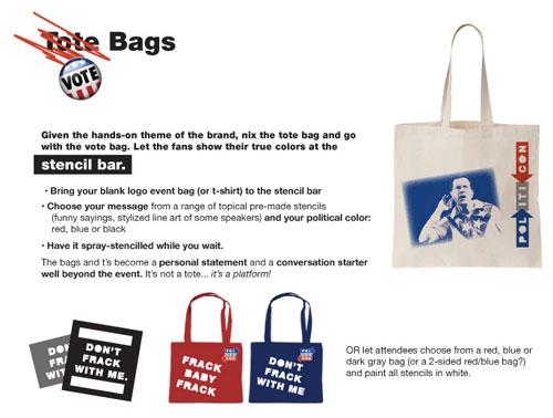vote bags