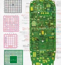 nokia 3310 schematics and diagrames 4g nokia 3310 circuit diagram nokia 3310 [ 1220 x 1563 Pixel ]