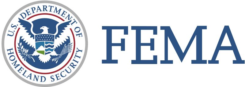 FreeAxez Client - F E M A (Blue Font) Federal Emergency Management Agency Logo