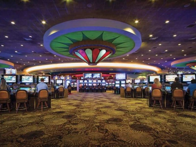Raised Floor in Casino
