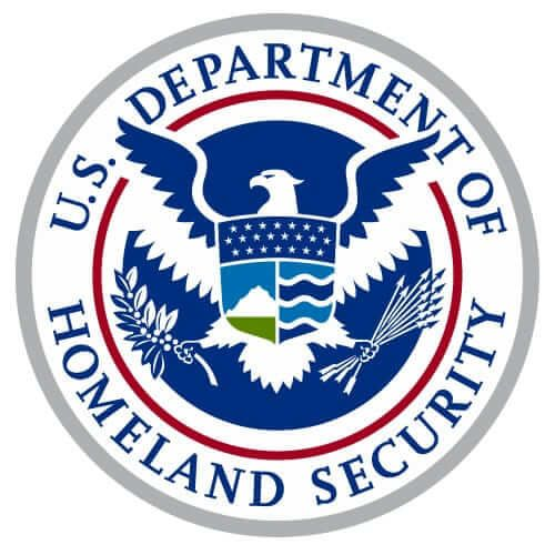 FreeAxez Client - U.S. Department of Homeland Security Crest