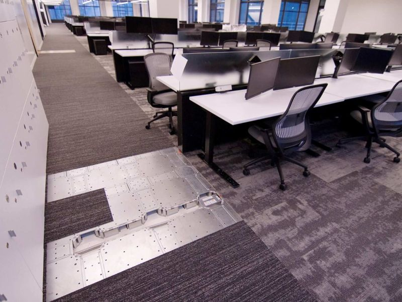 Access Floor in AT&T corporate office
