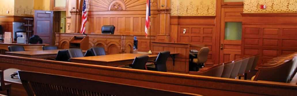 Raised Flooring in a Court Room