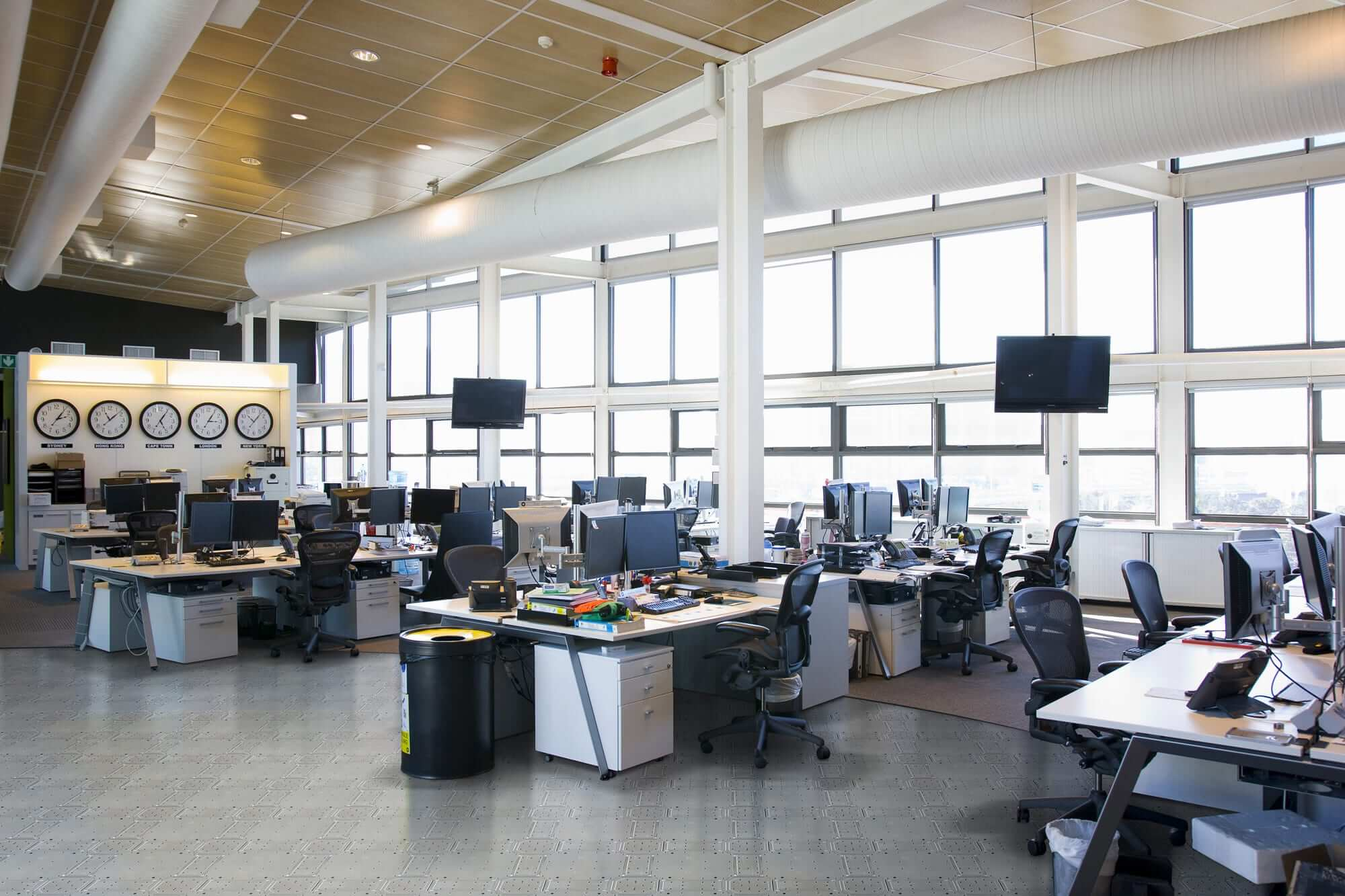 Office Example for Raised Flooring Companies