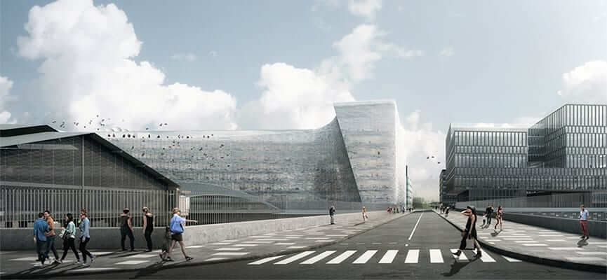 Modern Building Designs: Le Monde Headquarters- Paris