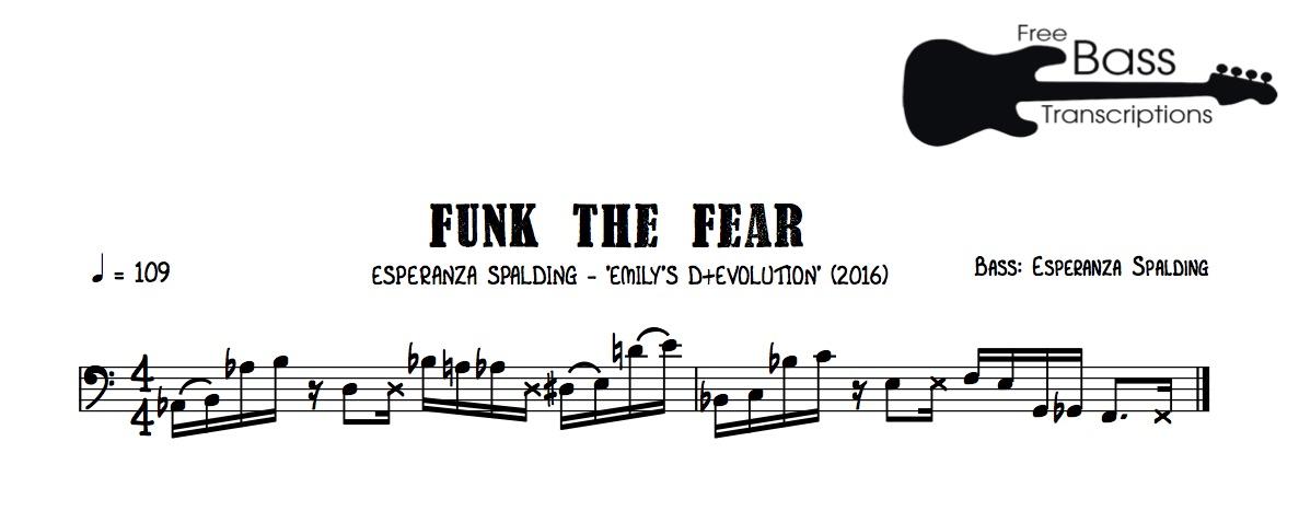 Groove Of The Week 38 Esperanza Spalding Funk The Fear