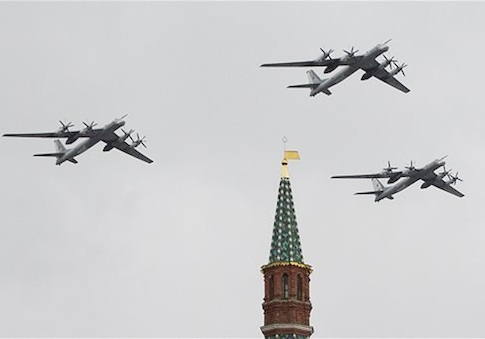 Russia Test Fires Six New Air-Launched Cruise Missiles