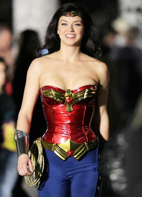 Wonder Woman Twirl