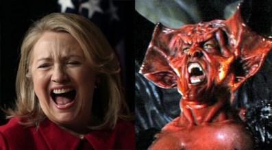 Bildergebnis für Clinton ist der Antichrist