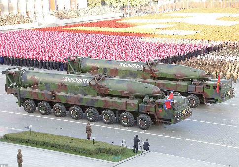 Image result for north korean icbm