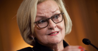 Claire McCaskill Used Undisclosed Foundation to Pay for Dinner at Russian Ambassador's House