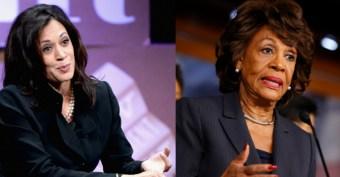Dem Sen Kamala Harris Paid Major Cash to Get an Endorsement from Maxine Waters