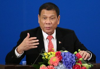 Duterte Promotes 'Dead or Alive' Bounties of $40K