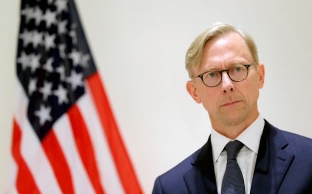 Brian Hook, U.S. special representative for Iran