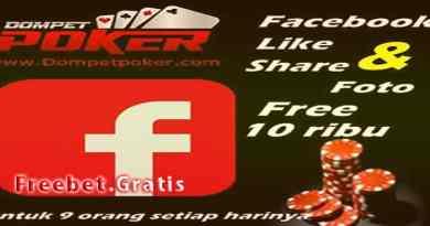 Freebet Gratis Setiap Hari Rp10.000 Dari DompetPoker.com