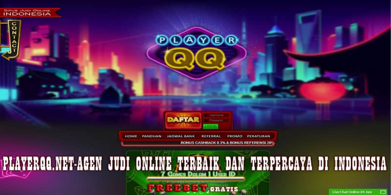 PLAYERQQ.com Agen Judi Online Terbaik di Indonesia