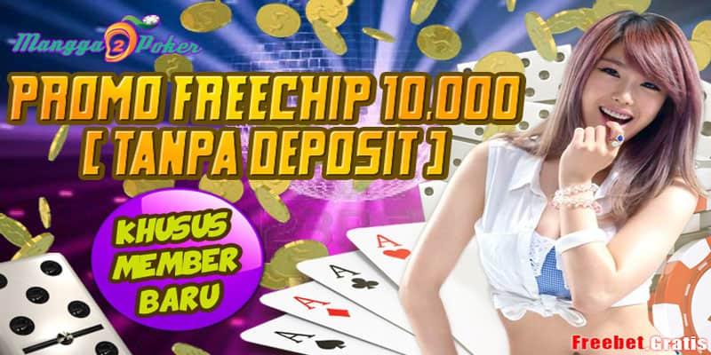 Freebet Gratis IDR 10.000 Untuk Member Baru dari Mangga2Poker.com