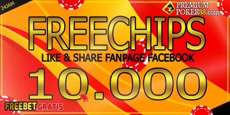Freebet Gratis 10000 Untuk Member Baru Dari PremiumPoker