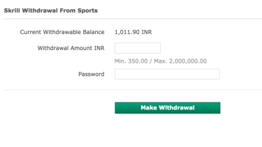 bet365 withdraw money in india