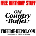 Birthday old country buffet coupons old country buffet printable
