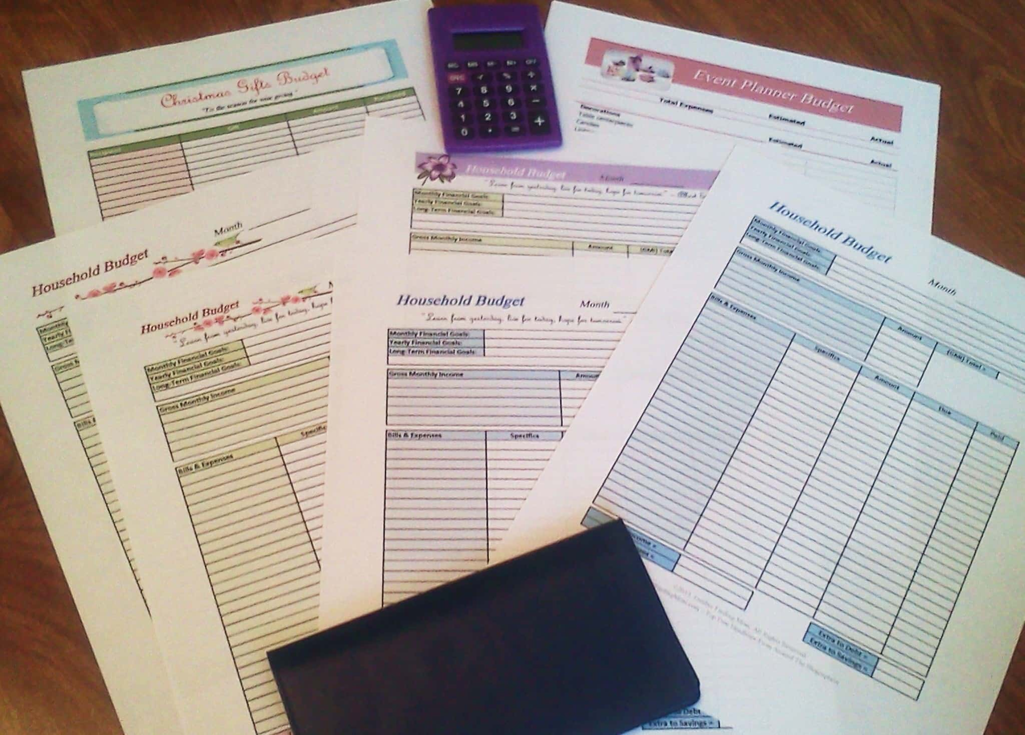 Free Monthly Household Budget Spreadsheet And How To Video