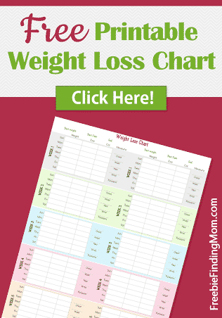 Remarkable image for free printable weight loss chart