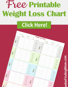Free printable weight loss chart to keep track of your progress as you achieve also from freebie finding mom rh freebiefindingmom