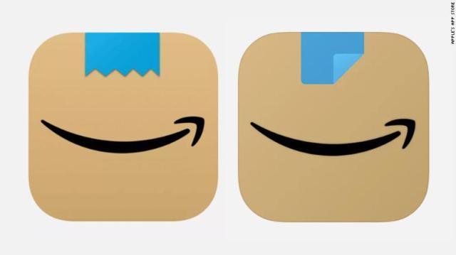 Amazon's new logo