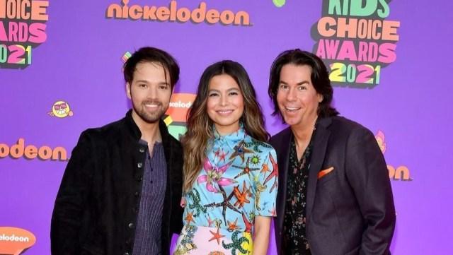 iCarly Reboot Cast Reunites at the 2021 Nickelodeon Kids' Choice Awards