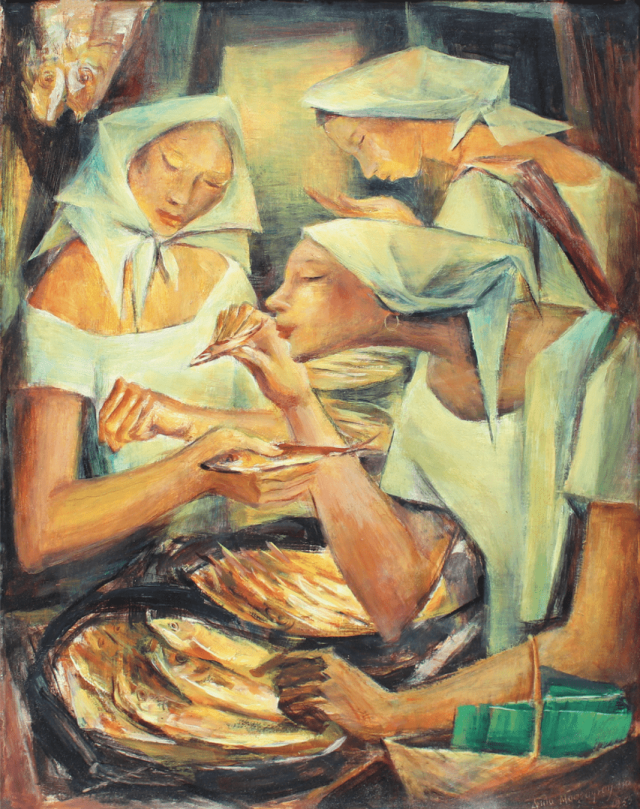 The painting is regarded as Anita Magsaysay-Ho's best and her personal favorite.