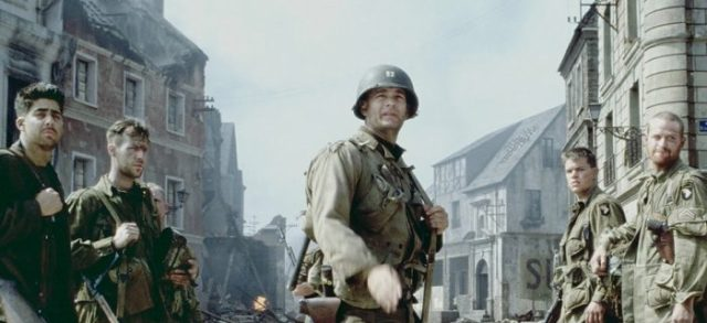90s film Saving Private Ryan