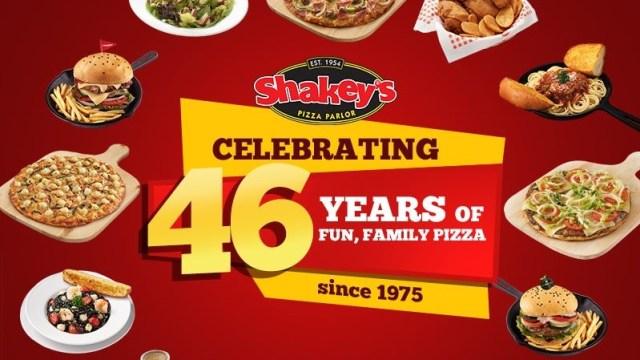 Shakey's Philippines 46th anniversary blowout