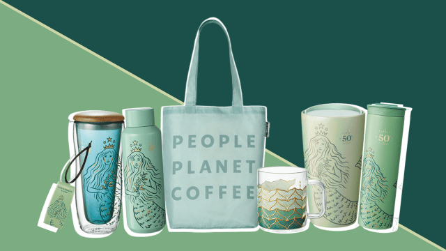 Starbucks' Siren Takes the Spotlight in Their 50th Anniversary Collection