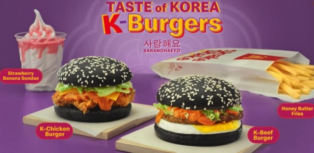 """Get a """"Taste of Korea"""" with McDonald's' New K-Burgers, Fries, and Ice Cream"""
