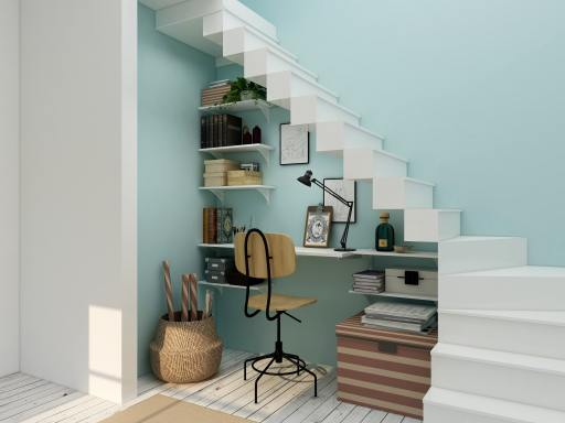 Design Ideas for Unused space Under the stairs