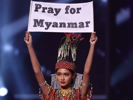 Miss Universe Myanmar 2020 finally finds refuge in the US