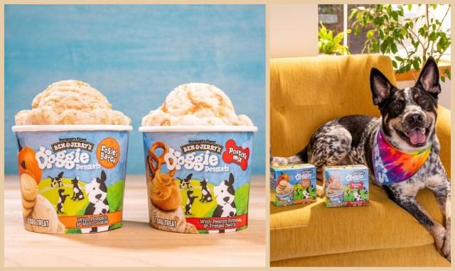 "Ben & Jerry's Launches Dog-Friendly Frozen Treats Called ""Doggie Desserts"""