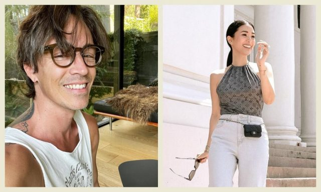 """Heart Evangelista And Brandon Boyd Of """"Incubus"""" Are Collaborating On An Art Project"""