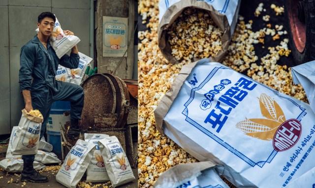 South Korean Cinema Chain GCV Sells Cement Bag-Sized Popcorn