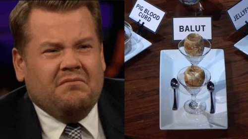 FreebieMNL - James Corden gets criticized for calling balut, other Asian foods 'disgusting'