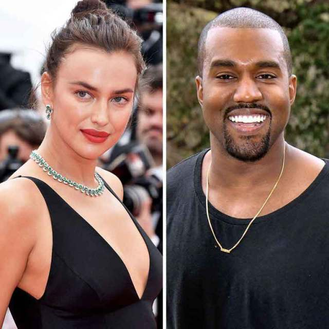 FreebieMNL - Kanye West Spotted with Model Irina Shayk
