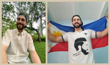 """""""The Hungry Syrian Wanderer"""" Reveals That He Is Now A Filipino Citizen"""