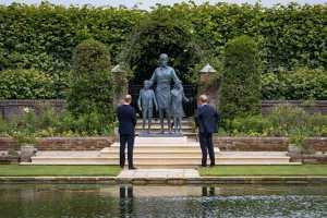 FreebieMNL - Prince William And Prince Harry Reunite To Unveil Princess Diana Statue At Kensington Palace